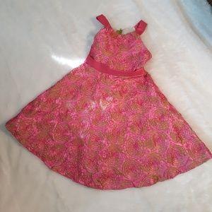 Rare, Too Ribbon Swirl Dress